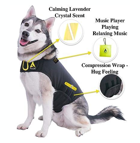 Amazon.com : CozyFur Patent Pending Canine Anti Anxiety Vest Calming