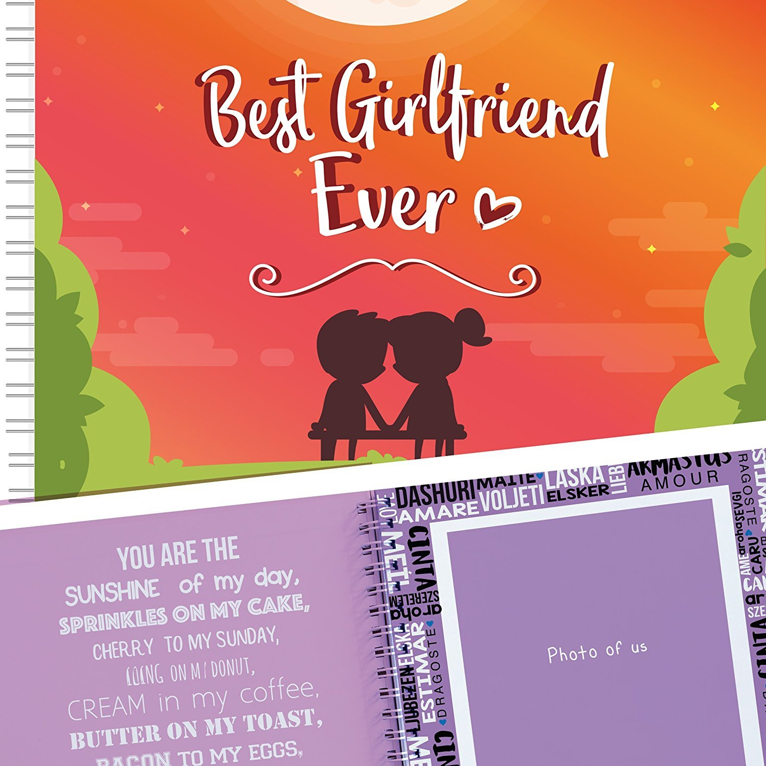 Buy Best Girlfriend Ever Memory Book The Best Romantic Gift Ideas For Your Girlfriend Your Gf Will Love This Cute Present For Her Birthday Valentine S Day Christmas Or A Special Date