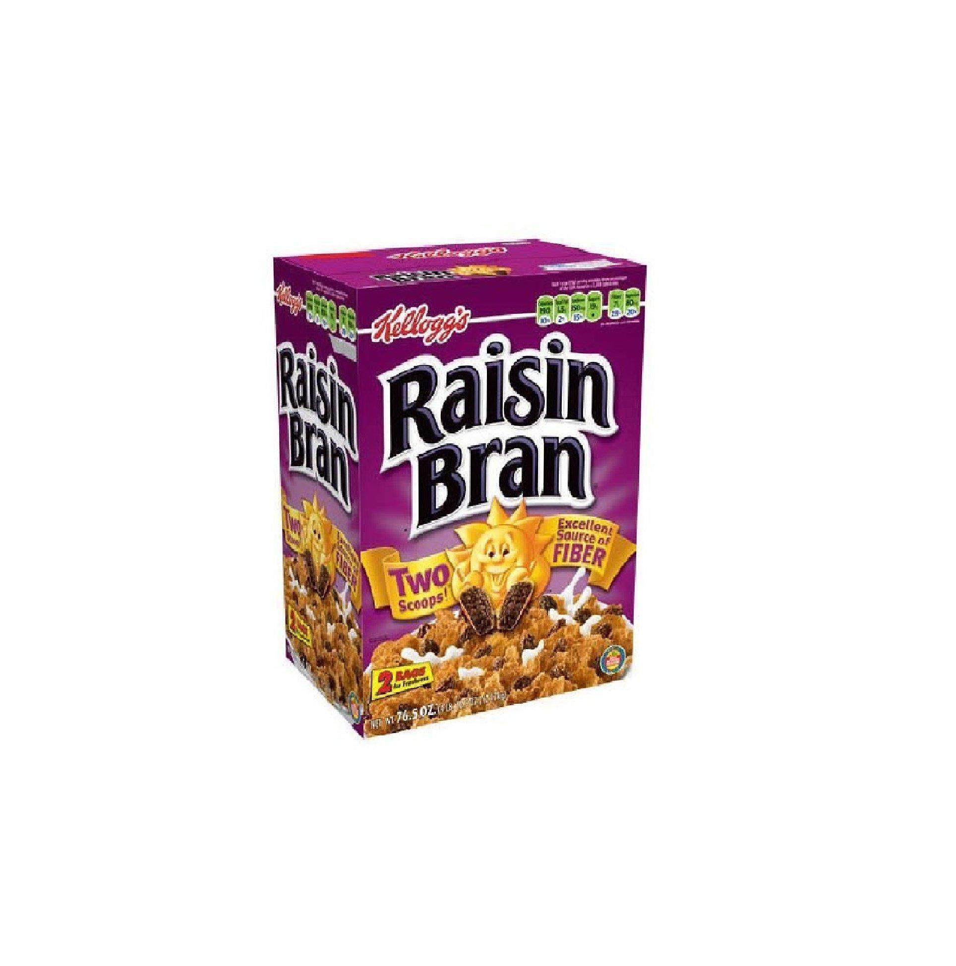 Kellogg's Raisin Bran, 76.5 Ounce