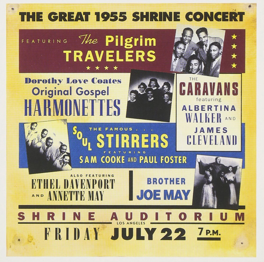 Great 1955 Shrine Concert