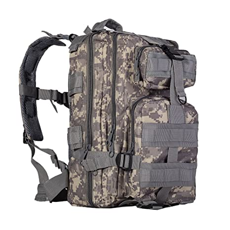 HODLEX Sport Outdoor Military Rucksacks Military Waterproof Outdoor Backpack  for Men Travel Backpack Military Army Patrol 3d290f416c954