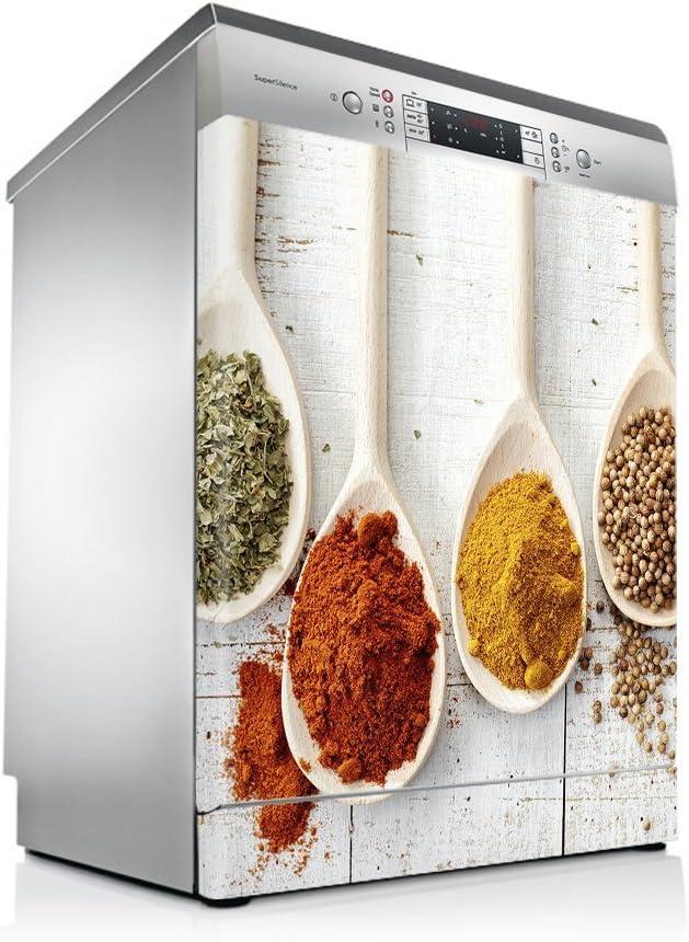 setecientosgramos Vinilo Lavavajillas | Stickers Dishwasher | Pegatina Lavavajillas | Cucharas Especias