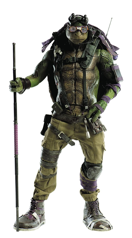 Figura Donatello 34 cm. Las Tortugas Ninja: Fuera de las ...