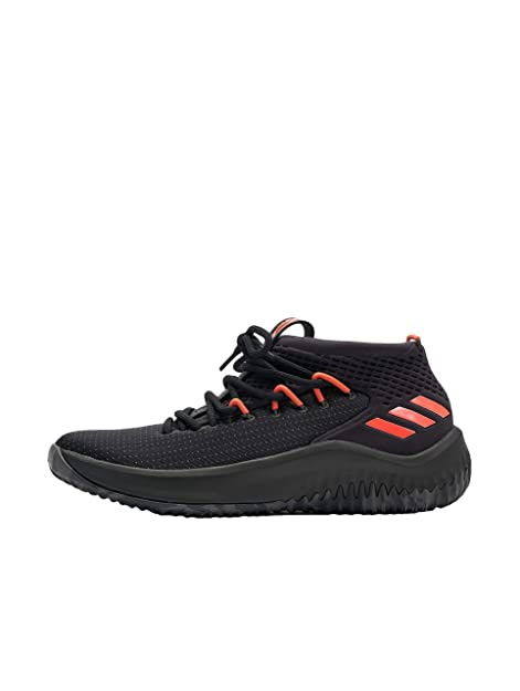 official photos adb61 23139 Adidas Dame 4, Scarpe da Basket Uomo, Nero CblackDgsogrHirere, 43 13 EU  Amazon.it Scarpe e borse