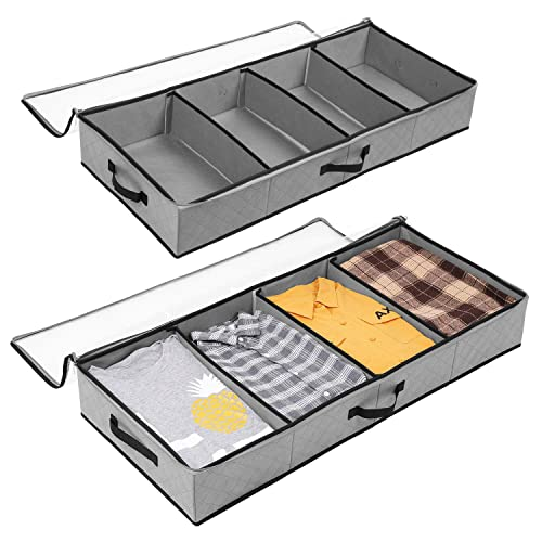 SOLEDI ベッド下収納 衣装ケース