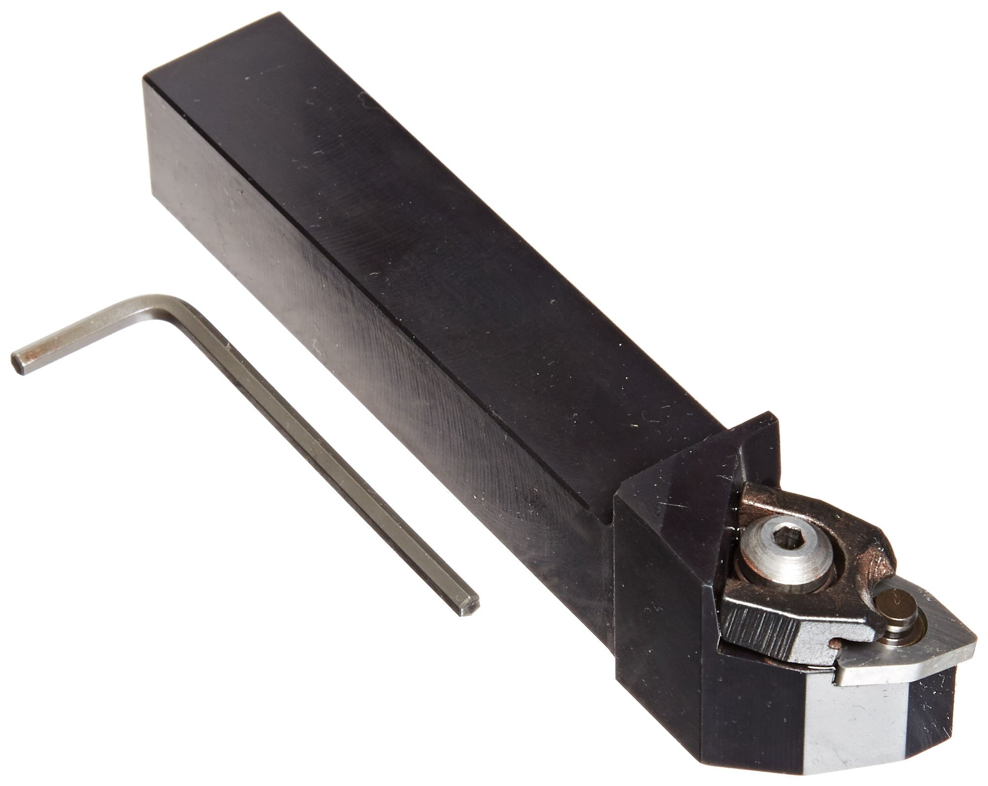 Sandvik Coromant MWLNR 2020K 08 Turning Insert Holder, Square Shank, Steel, External, Lever Lock, Right Hand, 20mm Width x 20mm Height Shank, 125mm Length x 27mm Width, WNMG 432 Insert Size
