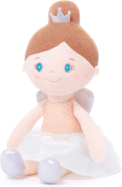 Gloveleya Baby Girl Regalos Muñecas - Peluche Dolly - Muñeca de Trapo Dream Angel Juguetes Blandos para niñas 15