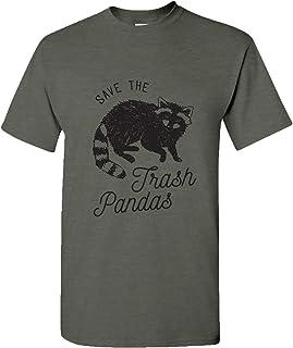 UGP Campus Apparel Save The Trash Pandas Basic Cotton T-Shirt