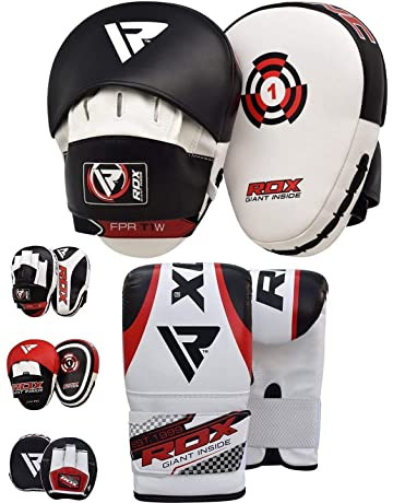 AchidistviQ Taekwondo Kick Pads Boxing Karate Pad PU Leather Muay Thai MMA Martial Art Kickboxing Punch Mitts Punching Bag Kicking Shield Training