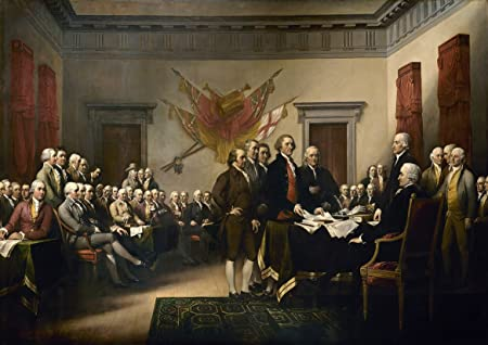 Fine Art Print//Poster Signing of the Declaration of Independence John Trumbull