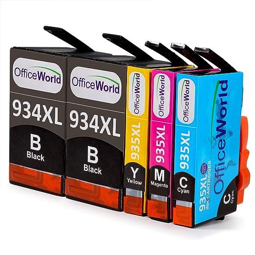 86 opinioni per OfficeWorld Cartucce Compatibili Sostituzione per HP 934XL 935XL Cartucce