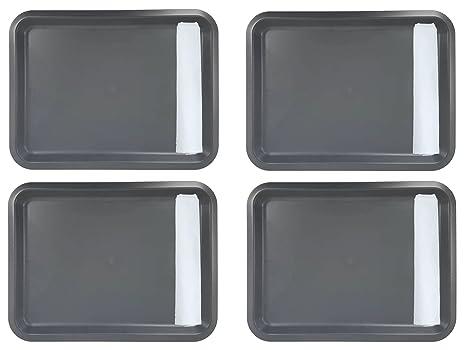 IKEA fungera cena bandeja Family Pack [Set de 4 bandejas] [gris/gris