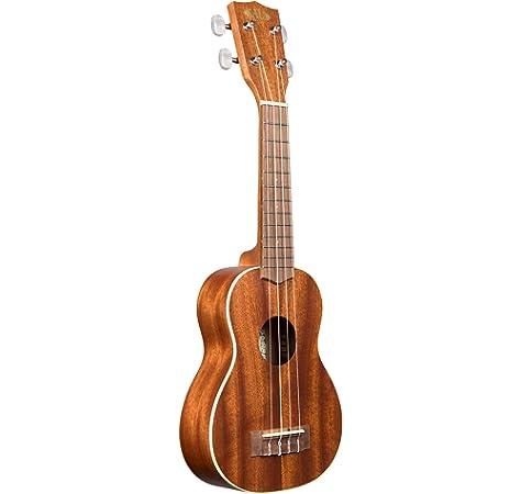 KINSMAN KUS10 - Estuche para ukelele soprano, color negro: Amazon.es: Instrumentos musicales