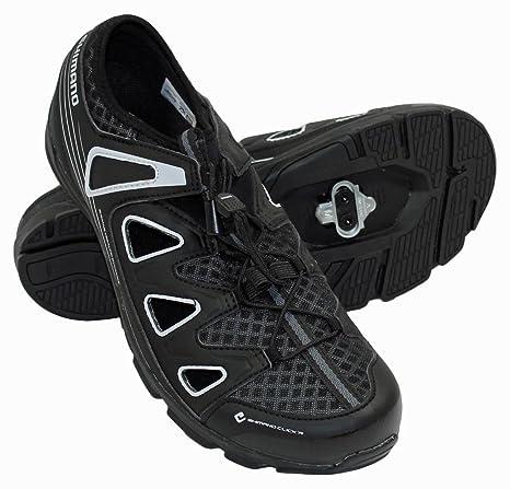 Shimano - Zapatillas de ciclismo para hombre negro
