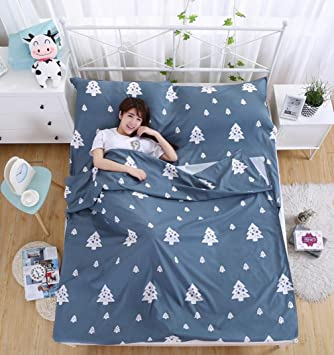 Viaje al aire libre portátil sucio sucio saco de dormir Hoteles hotel sábanas sucias 180 cm * 220 cm , gray 1: Amazon.es: Deportes y aire libre