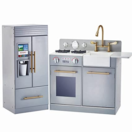 Amazon teamson design corp urban adventure kitchen playset teamson design corp urban adventure kitchen playset silver grey solutioingenieria Gallery