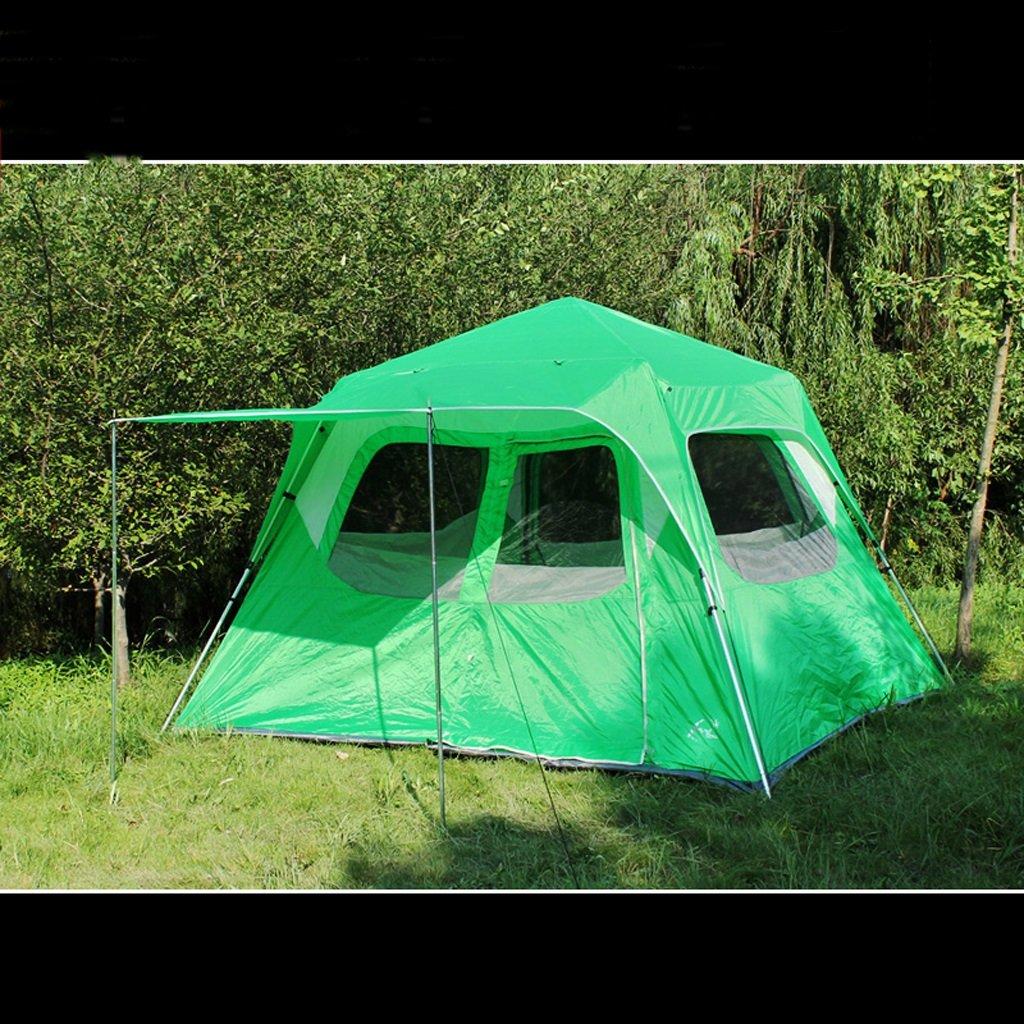 Deng Automatische Outdoor-Zelt 5-8 Person-Multiplayer-lässig großes Zelt Camping-Aluminium-Stange