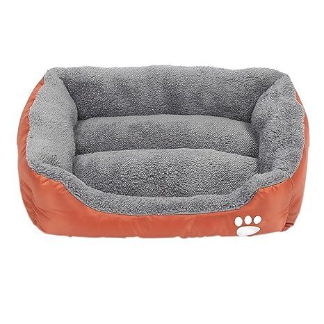 XFentech Cama para Mascotas Ultra Suave, cojín para Dormir Gato para Mascotas, Funda Exterior Lavable (Leopardo,S (42 * 32cm)): Amazon.es: Productos para ...