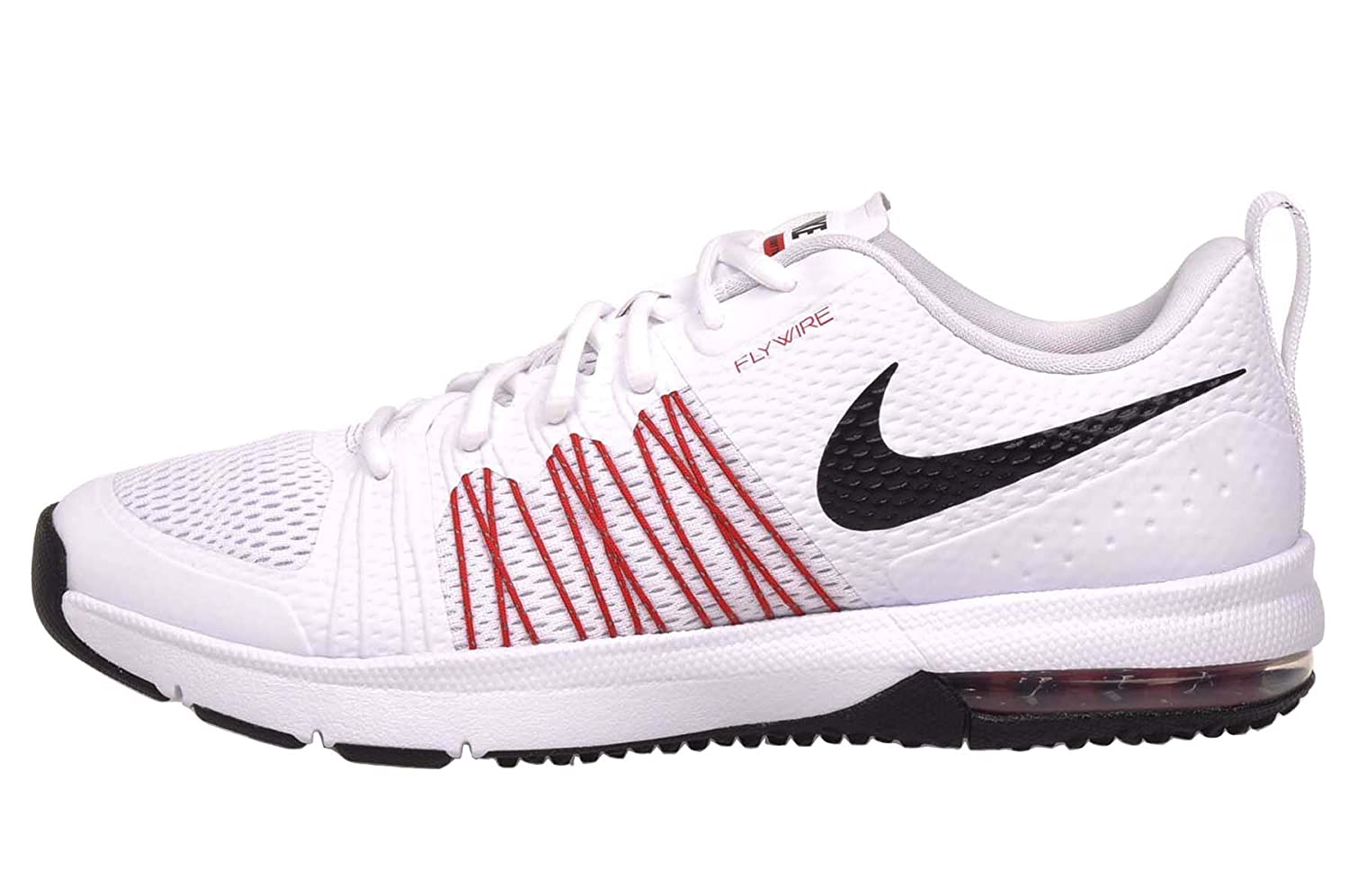 check out 33b4f 2e15a ... Amazon.com Nike Mens Air Max Effort TR White Red Running Cross Trainer  Shoes Track ...