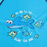 TFJH E Toddler Baby Boys Long Sleeve Swimsuit UV
