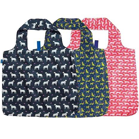 Amazon.com: rockflowerpaper blu Bolsa Bolsa de la compra ...