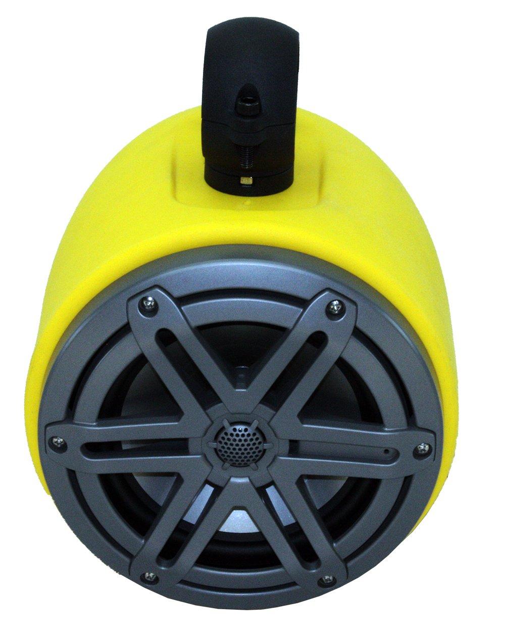 Froghead Industries WAKE865 Wake Tower Speaker Pair With Versatile Mounting Hardware And JL Audio Marine Speakers
