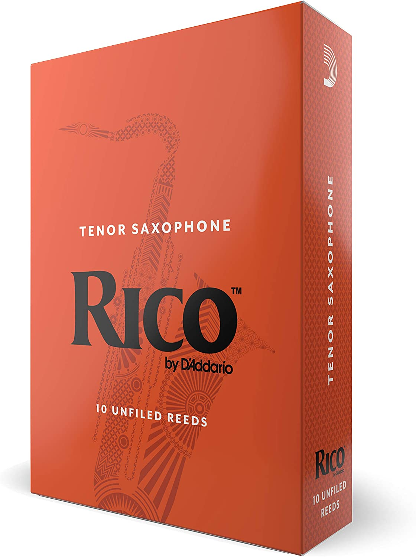 New Unopened Box of 10 Rico Royal Size 3 Alto Saxophone Sax Reeds