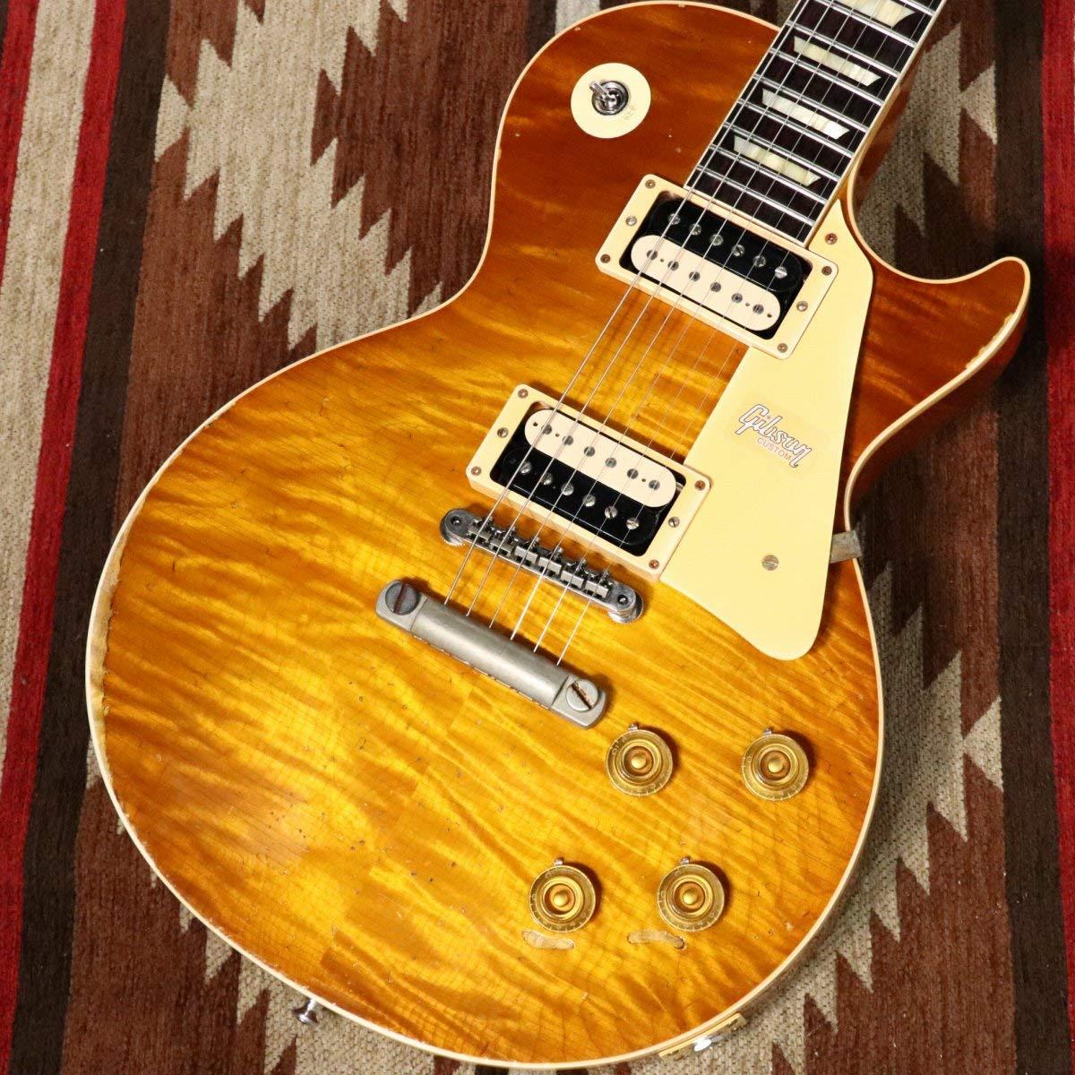 Gibson Custom Shop / 60th Anniversary 1959 Les Paul Ultra Aged Double Dirty Lemon/   B07TY3Q8RD