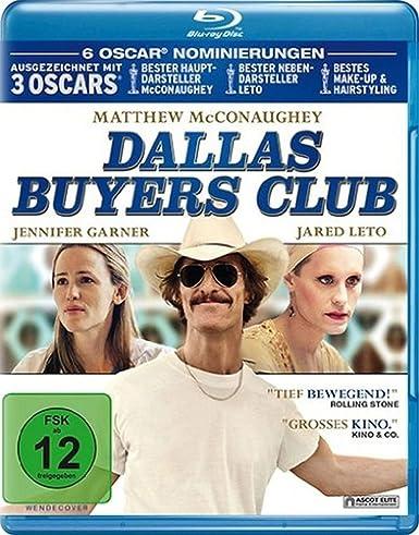 Dallas Buyers Club [Blu-ray] [Alemania]: Amazon.es: Matthew ...
