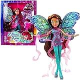 World of Winx - Dreamix Fairy - Layla Aisha Poupée 28cm avec Robe Magique