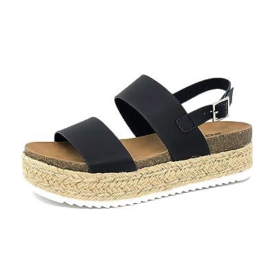 925c63926ae7 Amazon.com  SODA Kazoo Topshoe Avenue Women s Open Toe Ankle Strap ...
