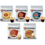 TASSIMO LOr Café Fortissimo - 5 paquetes de 16 cápsulas: Total 80 ...