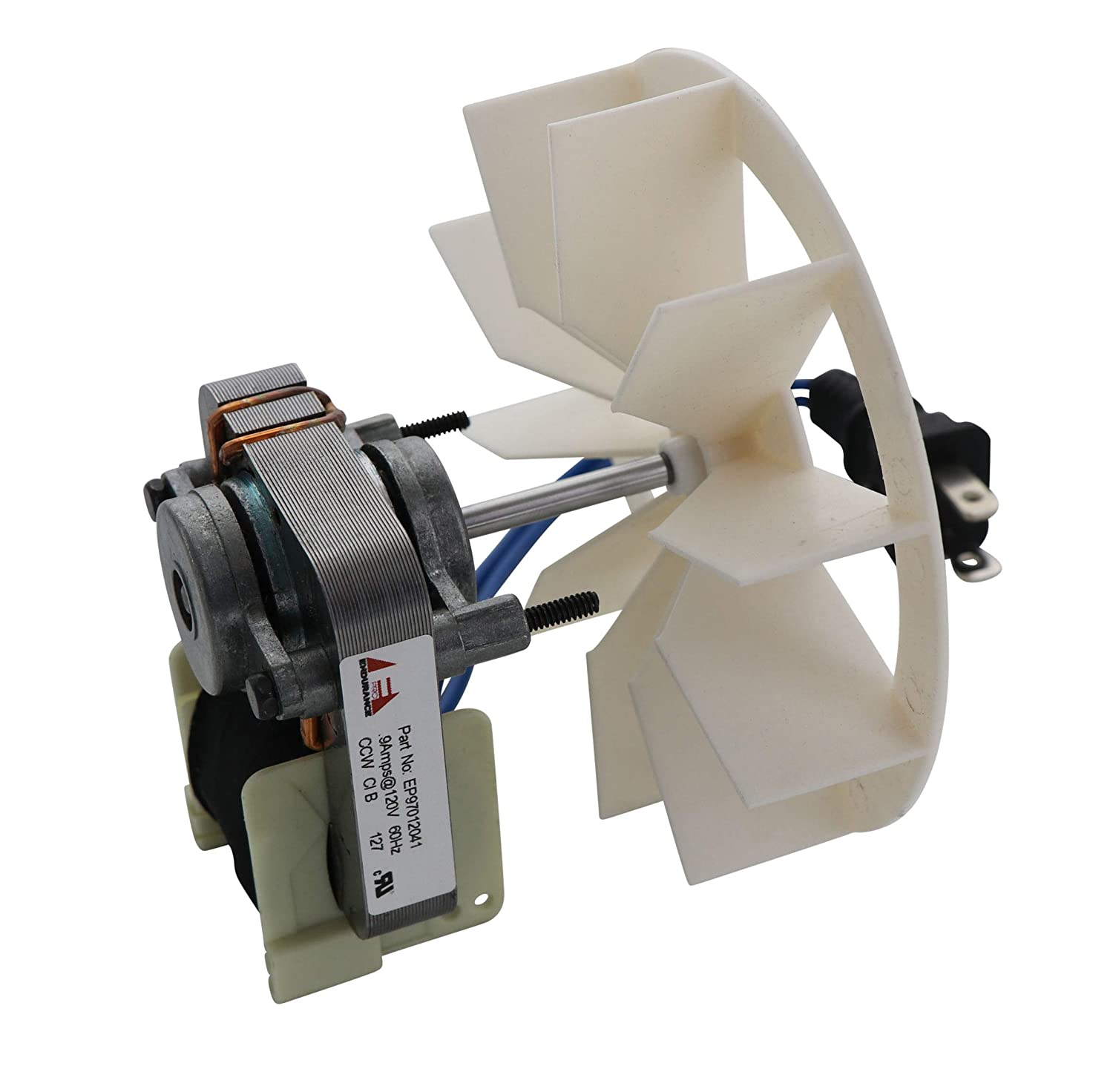 Endurance Pro 97012041 Vent Fan Motor & Blower Wheel Replacement for Broan NuTone