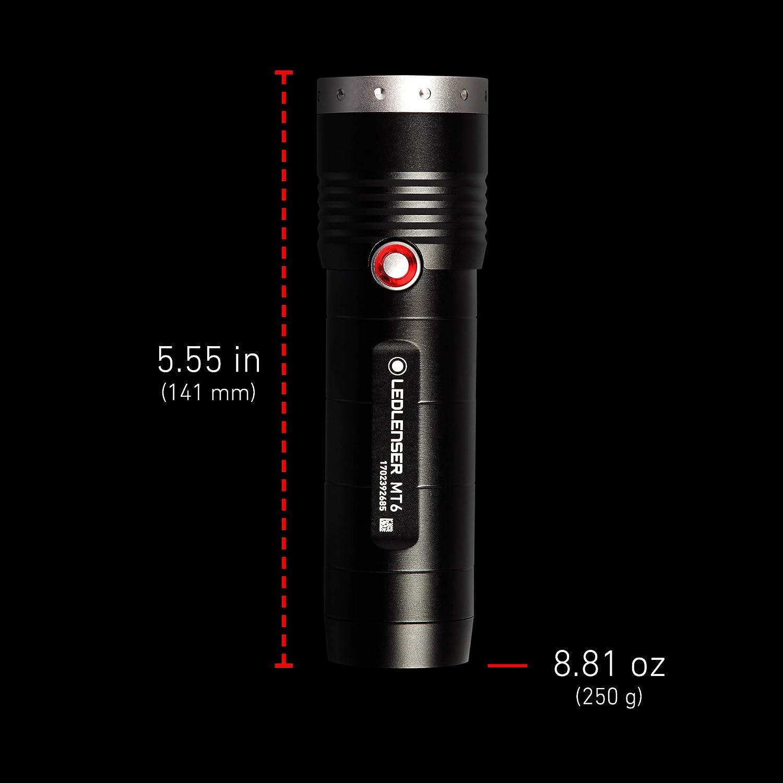 MT18 Rechargeable Handheld Flashlight Hiking Camping LED Lenser 3000 Lumens Outdoor Series Ledlenser High Power LED Backpacking