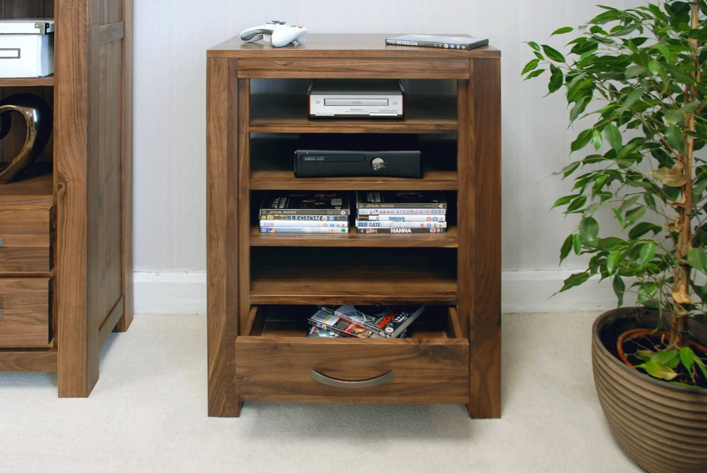 Baumhaus CWC09C - Mesa para equipo de sonido (madera de nogal): Amazon.es: Electrónica