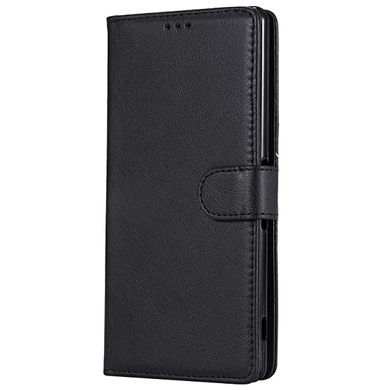 timeless design 6ac40 5cfaa Sony Xperia XA Ultra Case, Lomogo Leather Wallet Case with Kickstand Card  Holder Shockproof Flip Case Cover for Sony Xperia XA Ultra - LOKTU30495 ...