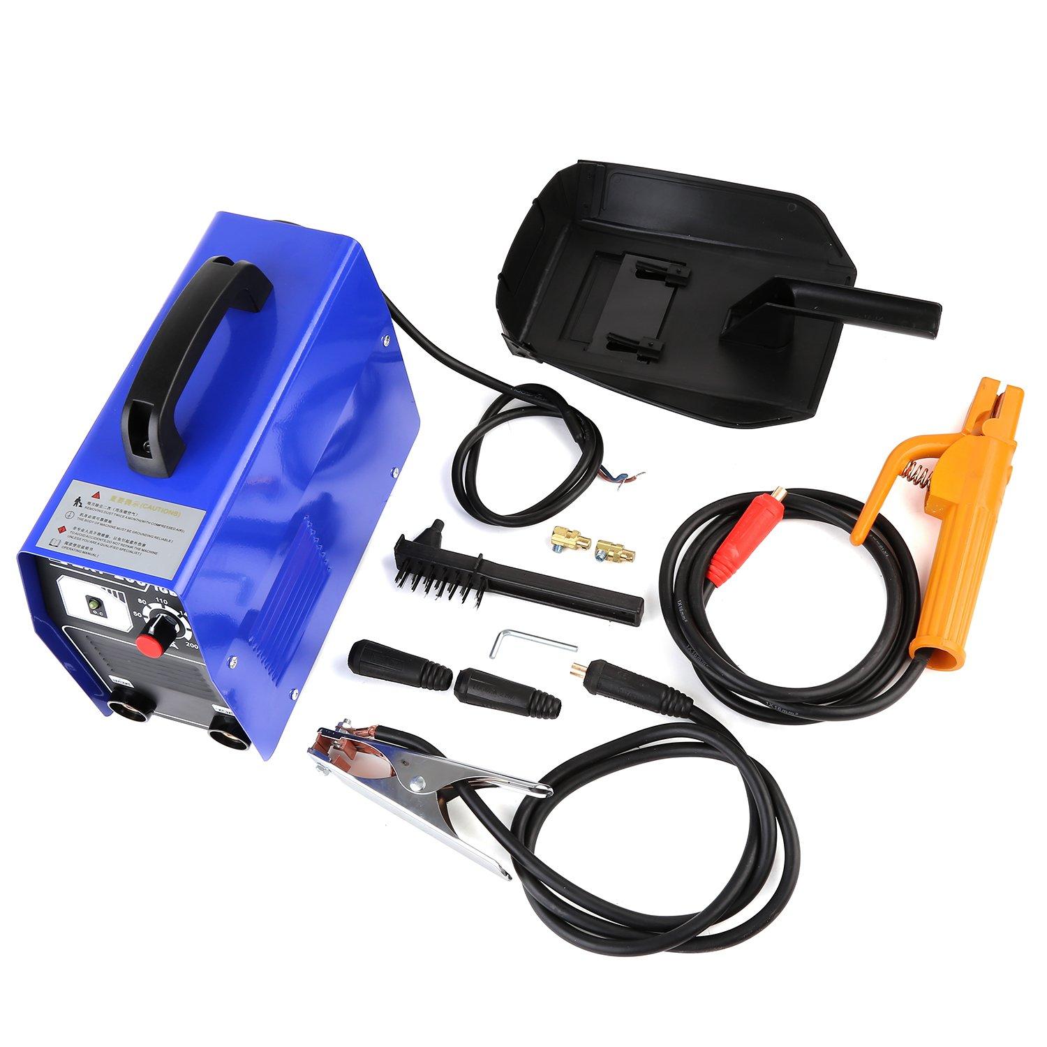 MVPOWER 200A Inverter Schweiß gerä t -2.5mm Elektrodenschweiß gerä t MMA Profi Elektroden Schweiß maschine mit Einschaltdauer 100% bei 160A