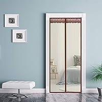 Magnetisch muskietennet voor deur,70x190cm(28x75inch) voor ingangsdeur, binnenplaats, patio, schuifdeur, eenvoudige…