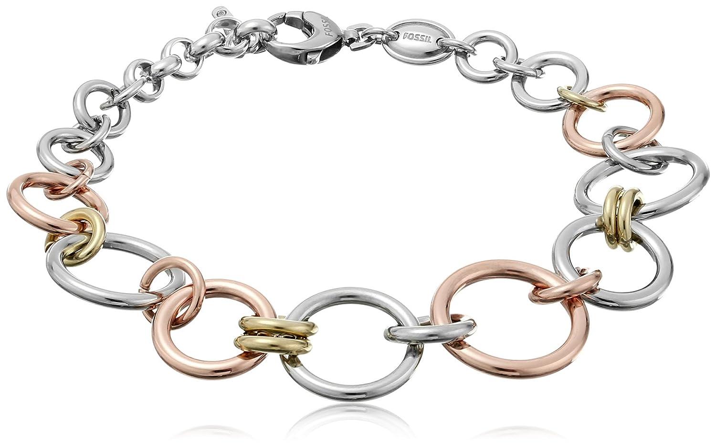 Fossil Women's Silver Bracelet JF01821998 YO8X1OuJ0S