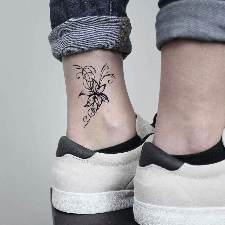 Tatuaje Temporal de Flor de jazmín (2 Piezas) - www.ohmytat.com ...