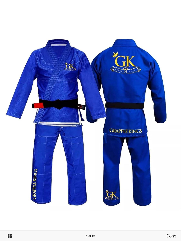 GK Kings BJJ Gi, Blau