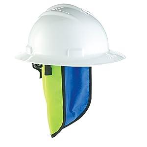 Ergodyne Chill-Its 6670CT Evaporative Cooling Hard Hat Neck Shade
