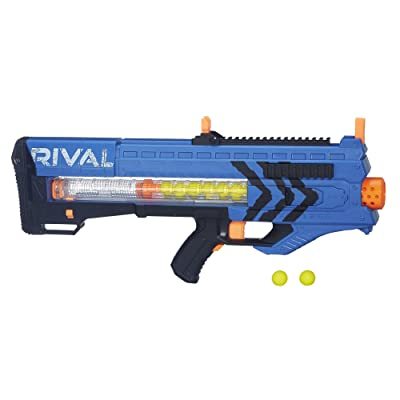 Nerf Rival Zeus MXV-1200 Blaster (Blue): Toys & Games