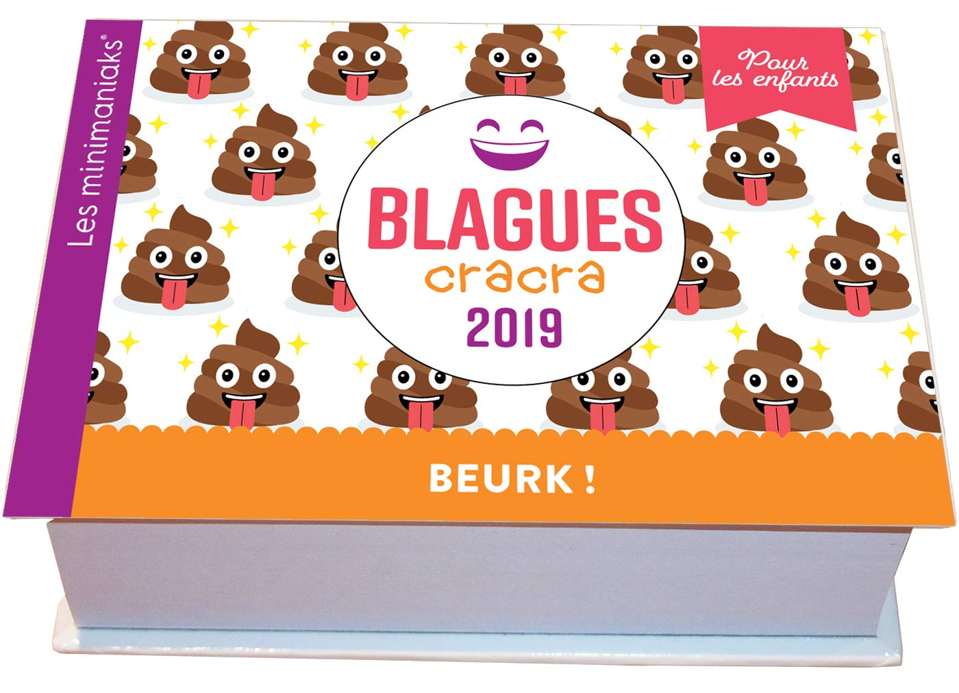 Minimaniak Blagues cracra pour les enfants 2019 Poche – 10 octobre 2018 Collectif Editions 365 2377611141 Humour