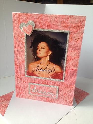 Amazon Diana Ross Motown Singer Handmade Greetings Birthday