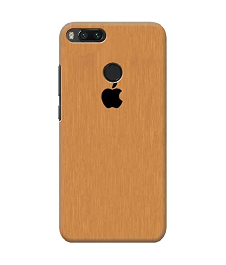 pretty nice ebe1d 85556 Be Awara Apple Logo Printed Back Case Cover for Xiaomi: Amazon.in ...