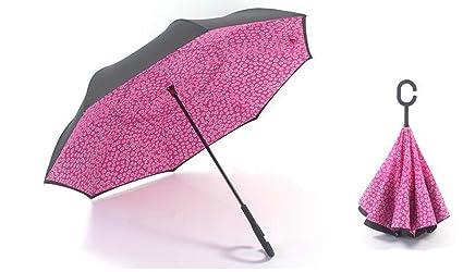 Sucastle Spot, sombrilla, plegable, paraguas, paraguas de coche, de pie,