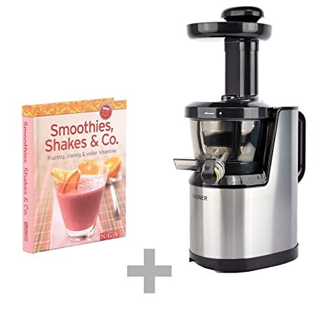 vasner juica Slow Juicer Touch de distancia con Smoothie libro de ...