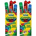 2Pk. Sunstar GUM Crayola Anti-Cavity Fluoride Toothpaste