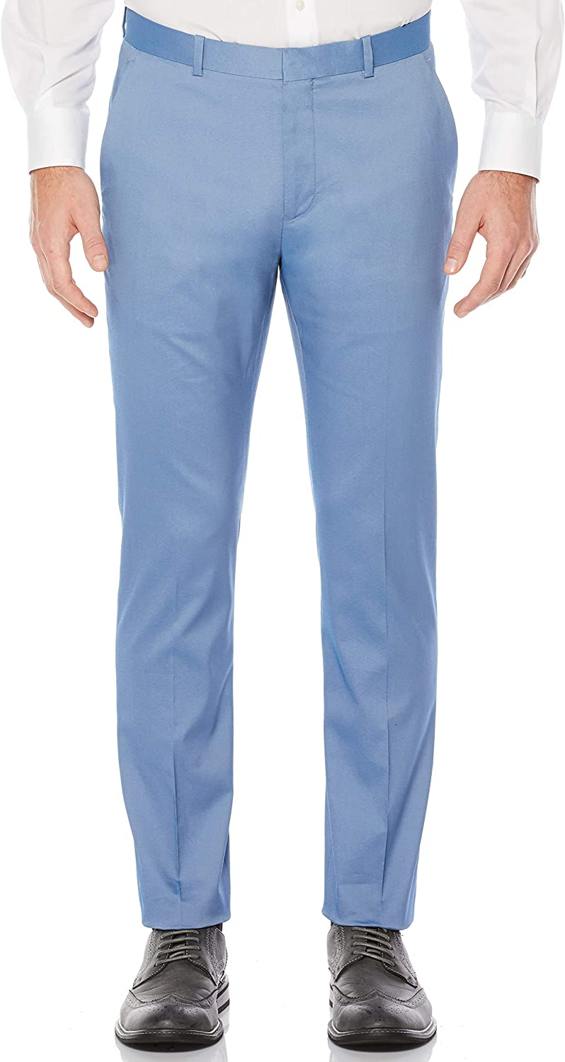 Perry Ellis Mens Very Slim Iridescent Twill Suit Pant